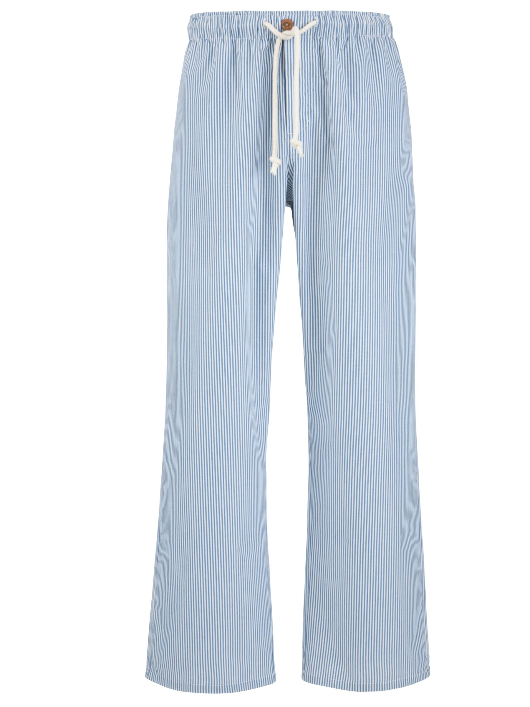 John Lewis Jake Fine Stripe Pyjama Pants, Navy