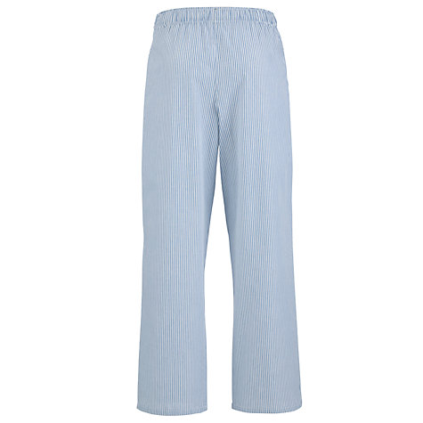 Buy John Lewis Jake Fine Stripe Pyjama Pants, Navy Online at johnlewis.com
