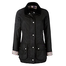 Buy Barbour Liberty Beadnell Waxed Jacket Online at johnlewis.com