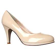 Buy Carvela Alas Patent Court Shoes, Nude Online at johnlewis.com