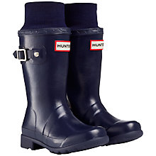 Buy Hunter Original Tour Wellington Boots, Navy Online at johnlewis.com