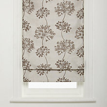 Buy John Lewis Whisper Allium Roman Blinds Online at johnlewis.com