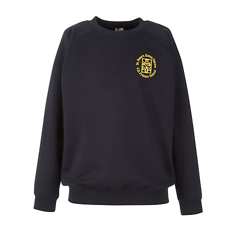 Buy St Peter's Eaton Square C of E Primary School Sweatshirt, Navy Online at johnlewis.com