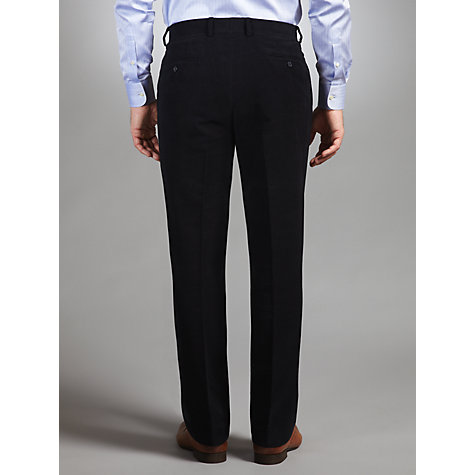 Buy John Lewis Moleskin Trousers, Navy Online at johnlewis.com