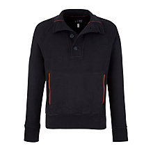 Buy Armani Jeans Funnel Neck Jersey Jumper Online at johnlewis.com