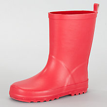 Buy John Lewis Wellington Boots, Red Online at johnlewis.com