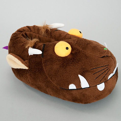 Buy Gruffalo Slippers, Brown Online at johnlewis.com