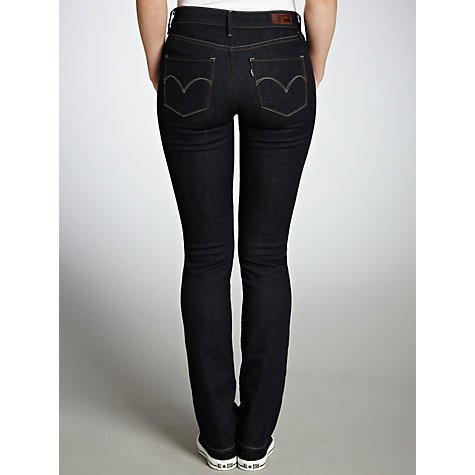 Buy Levi's Curve ID - Demi Curve Straight Leg Jeans, Richest Indigo Online at johnlewis.com