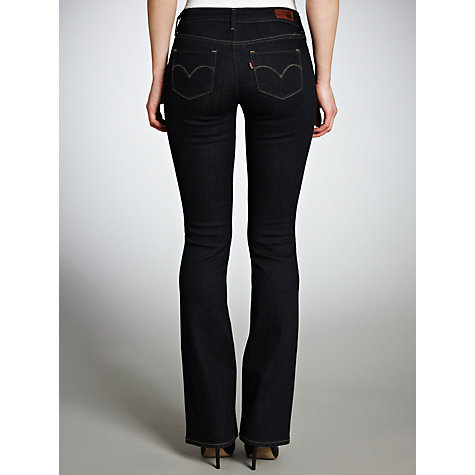 Buy Levi's Curve ID - Slight Curve Bootcut Jeans, Indigo Online at johnlewis.com