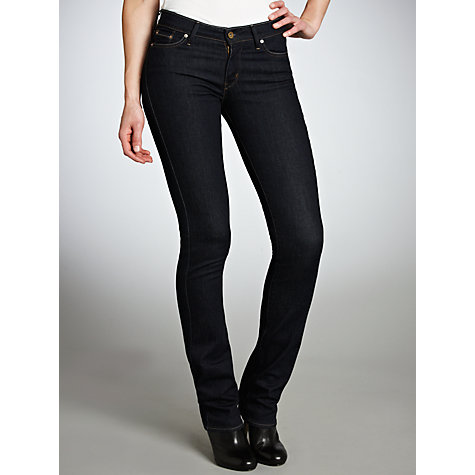 Buy Levi's Curve ID - Slight Curve Straight Leg Jeans, Richest Indigo Online at johnlewis.com