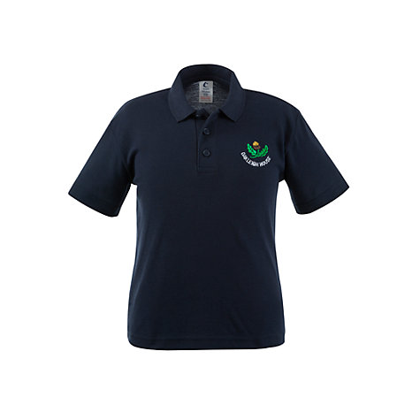 Buy Oakleigh House School Polo Shirt, Navy Online at johnlewis.com