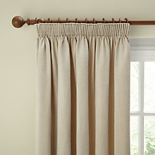 Buy John Lewis Chenille Lined Pencil Pleat Curtains Online at johnlewis.com