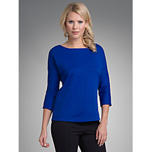 Buy Betty Barclay Jersey Top, Electric Blue Online at johnlewis.com