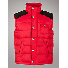 Buy Barbour Boys' Hilltop Gilet Online at johnlewis.com
