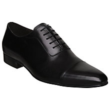 Buy Dune Anatate Girder Shoes, Black Online at johnlewis.com
