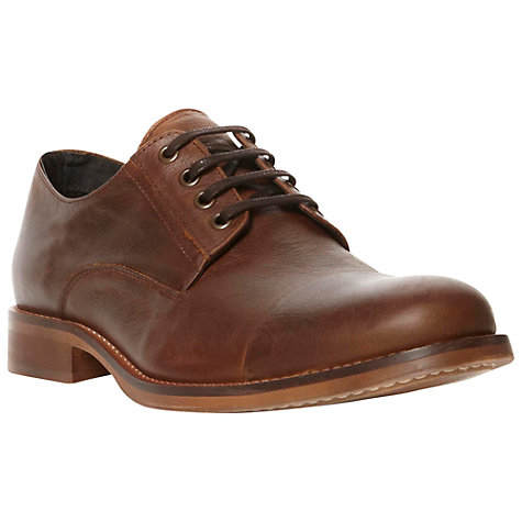 Buy Bertie Bleeker Top Cap Gibson Derby Shoes, Tan Online at johnlewis.com