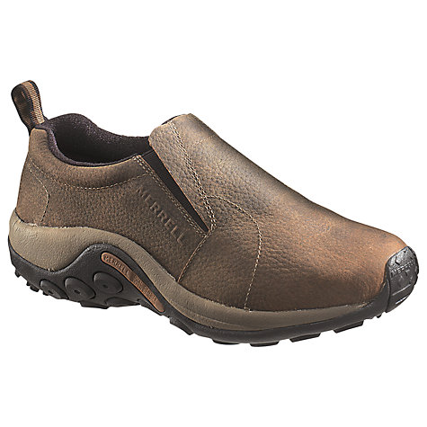 Buy Merrell Jungle Moc Shoes, Brown Online at johnlewis.com