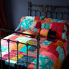 Buy Clarissa Hulse Patchwork Duvet Cover and Pillowcase, Multi Online at johnlewis.com