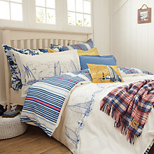 Buy Joules Coastal Boat Duvet Cover Online at johnlewis.com