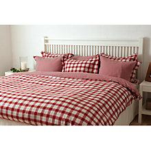 Buy Gant Plaid Check Duvet Cover Online at johnlewis.com