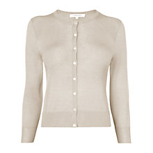 Buy L.K. Bennett Breen Merino Wool Fitted Cardigan Online at johnlewis.com