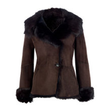 Buy L.K. Bennett Darwin Sheepskin Coat Online at johnlewis.com