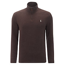 Buy Polo Ralph Lauren Half Zip Pullover Top Online at johnlewis.com