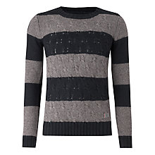 Buy Firetrap Fender Stripe Jumper, Navy Online at johnlewis.com