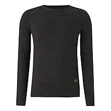 Buy Firetrap Jolt Speck Jumper, Navy Online at johnlewis.com