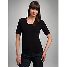 Buy Betty Barclay Short Sleeve T-Shirt, Black Online at johnlewis.com