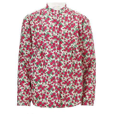 Buy Barbour Girls' Berkshire Shirt, Pink Online at johnlewis.com