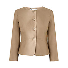 Buy L.K.Bennett Sadie Fitted Jacket, Sand Online at johnlewis.com