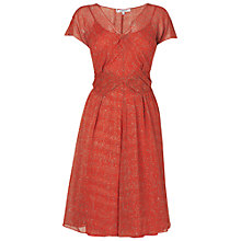 Buy L.K. Bennett Dr Melda Dress, Poppy Online at johnlewis.com