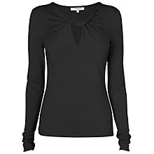 Buy L.K. Bennett Karina Twist Front Top Online at johnlewis.com