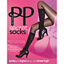 Buy Pretty Polly Modal Knee High Socks, Black Online at johnlewis.com