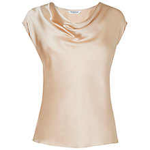Buy L.K. Bennett Cypris Top, Cream Online at johnlewis.com