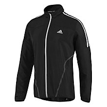 Buy Adidas Climaproof® Wind Jacket, Black/Grey Online at johnlewis.com