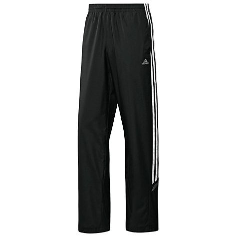 Buy Adidas CLIMAPROOF® Essential 3 Stripe Woven Training Trousers Online at johnlewis.com