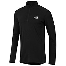Buy Adidas CLIMALITE 1/2 Zip Long Sleeve Top Online at johnlewis.com