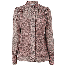 Buy L.K. Bennett Thalia Print Shirt, Rose Online at johnlewis.com