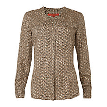 Buy L.K. Bennett Lina Blouse, Blush Online at johnlewis.com