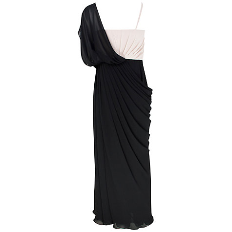 Buy Alexon Contrast Maxi Dress, Black Online at johnlewis.com