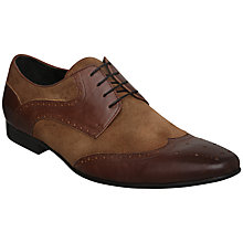 Buy Dune Acitone Wingtip Brogue Leather Online at johnlewis.com