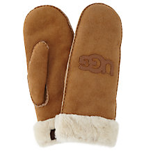Buy UGG Shearling Sheepskin Classic Mittens Online at johnlewis.com