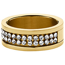 Buy Dyrberg/Kern Fratianne Crystal Band Ring Online at johnlewis.com