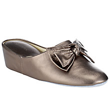 Buy John Lewis Blanche Leather Slippers Online at johnlewis.com