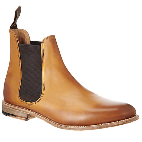 Buy John Lewis Made in England Sloane Street Leather Chelsea Ankle Boots Online at johnlewis.com