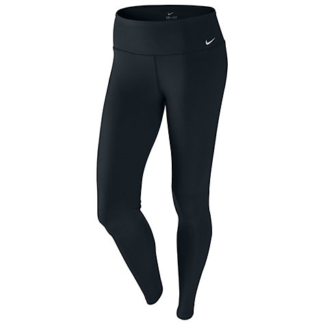 Buy Nike Legend Tight Fit Pants, Black/Cool Grey Online at johnlewis.com