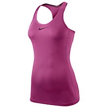 Buy Nike Pro Hypercool Tank Top, Pink Online at johnlewis.com