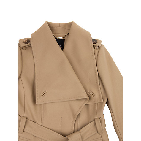 Buy Ted Baker Vasilis Long Wrap Coat Online at johnlewis.com